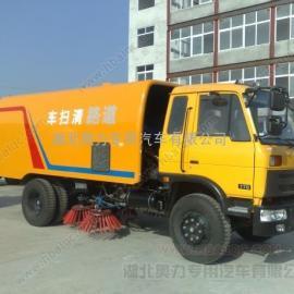 东风145道路清扫车 大型柴油清扫车 9吨马路清扫车