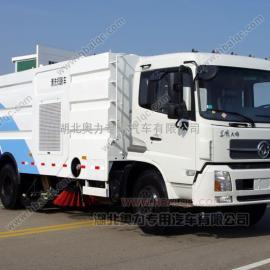 东风天锦道路洗扫车 大型洗扫车 高压清洗路面冲洗车