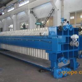 程控自动翻板聚丙烯高压隔膜压滤机