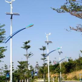 12M太阳能风光互补节能路灯