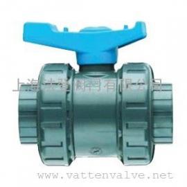 意大利进口塑料球阀,VEE-VXE型两通UPVC球阀