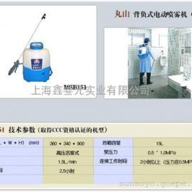 进口背负式电动喷雾器MSB151、消毒专用打药机