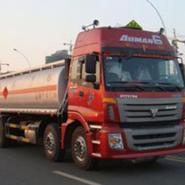 国四26吨油罐车推荐车型 欧曼前四后八运油车