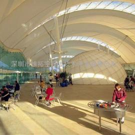 高铁核心区膜结构工程/高铁站台膜结构工程