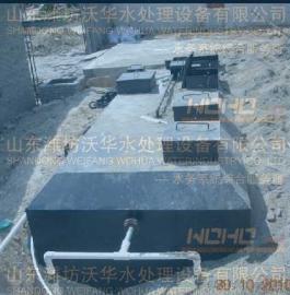 宜昌地埋式污水处理设备的适用范围