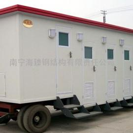 玉林市车载式移动厕所 泡沫封堵型生态环保厕所