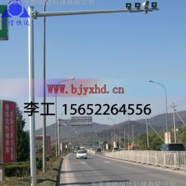 海淀监控杆厂家,专业生产八角道路监控立杆