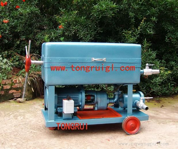 BK-100手动压力滤油机|框框式加压净油机(过滤面积大