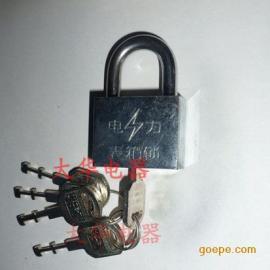 防盗电力表箱锁,镀铬锁具