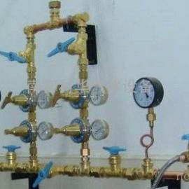 双侧式气体汇流排 全铜汇流排