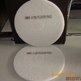 17寸美国3M4100白色抛光垫 刷片 百洁垫