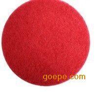 3M 清洁垫5100 百洁垫 刷片 抛光垫 20寸红色