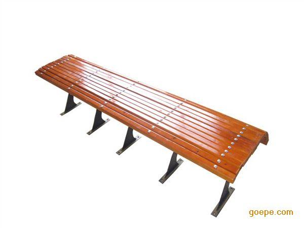 厂家供应铸铁 塑木 园林椅 户外坐凳
