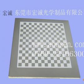 棋盘格、标定板、高精度棋盘格校正板、二次元专用产品