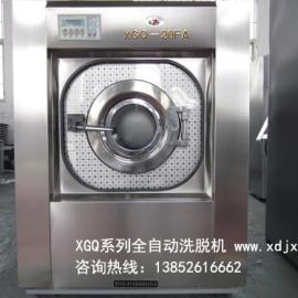 20公斤全自�酉疵��C|220V小型布草洗��C