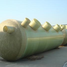 供应河北黄骅恒业兴科供家用玻璃钢化粪池丨楼房小区用玻璃钢化粪