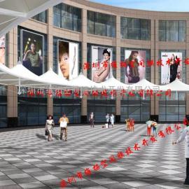 新建大型商业广场张拉膜/膜结构商业广场