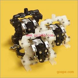 威马E6-1/4寸塑料气动隔膜泵 帕斯菲达计量泵深圳总代理