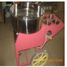 红宝石彩色果味拉丝棉花糖机