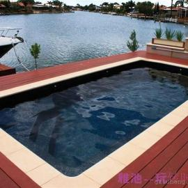 浪涛系列一体化私家别墅泳池