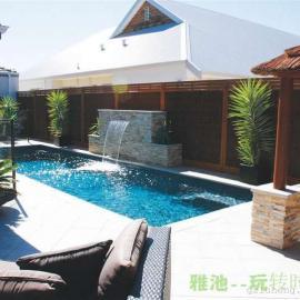 海钻系列一次成型私家泳池 别墅专用泳池