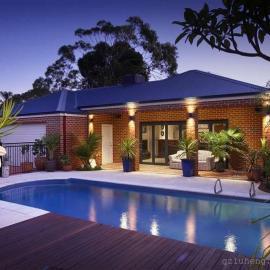加勒比海风情系列王者私家泳池 别墅泳池工程