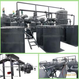 黑色废机油再生处理设备