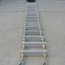 船用铝合金绳梯,铝合金梯子