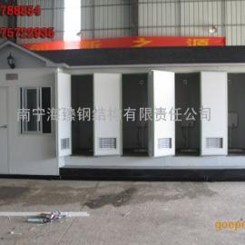广西环保厕所厂家根据客户要求定制|水冲、打包、泡沫