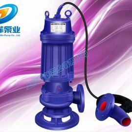 WQK20-60QG无堵塞切割式排污泵 WQK切割式污水泵