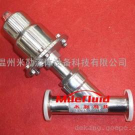不锈钢气动Y型角座阀安装方法