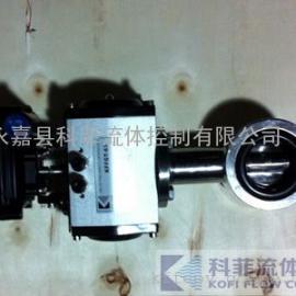 D671X气动不锈钢卫生级硅橡胶蝶阀
