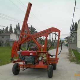 折叠打桩机,折叠液压打桩机,护栏打桩机