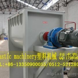 PVC塑料粒子卧式高速混合机组设备|张家港市木塑搅拌机械
