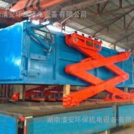 湖南省5吨地埋式压缩垃圾站,6立方垃圾站,可前移式垃圾站