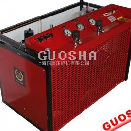 移动式 33MPA 300L/min 小型高压空气加气机压缩机