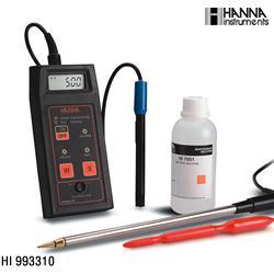 HI993310便携式电导率测定仪【土壤专用】