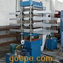 胶粉地砖硫化机,橡胶地砖成型机