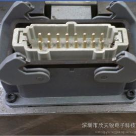 哈丁(HARTING)矩形连接器 哈丁航空插座