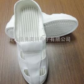 防静电帆布四孔鞋,防静电鞋,防静电防护鞋