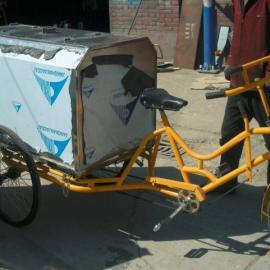 不锈钢三轮垃圾车