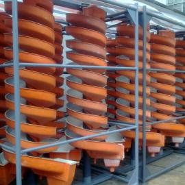 螺旋溜槽选矿设备衬胶耐磨防腐涂层