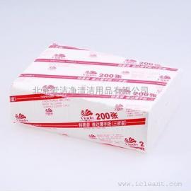 维达v2060特惠装三折装擦手纸单层20包