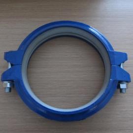 供应:4.2Mpa铸铁卡箍 挠性铸铁卡箍