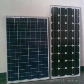 焦作太阳能电池板厂家 供应130W单晶太阳能电池板