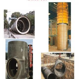 德国ADM聚酯混凝土顶管下水道与通讯人孔真空连续浇铸机