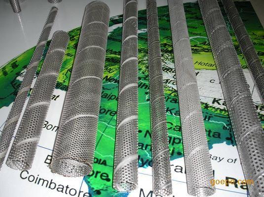 供应不锈钢冲孔过滤管