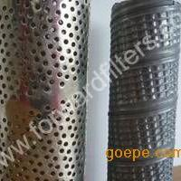供应不锈钢 铁镀锌滤芯 冲孔骨架 螺旋/直缝焊滤芯 咬口管