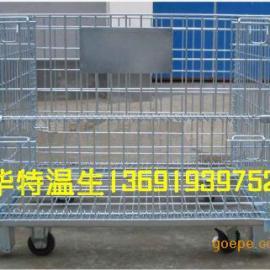 顺德仓储笼|中山标准铁笼|重型仓储铁笼|移动式带脚轮铁笼
