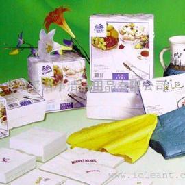 Vinda维达全白压花西餐餐巾纸V1005